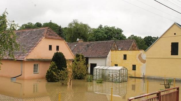 Povodeň 2013 - Dolní Lukavice
