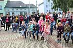 První školní den na ZŠ Za mlýnem v Přerově.1. září 2021