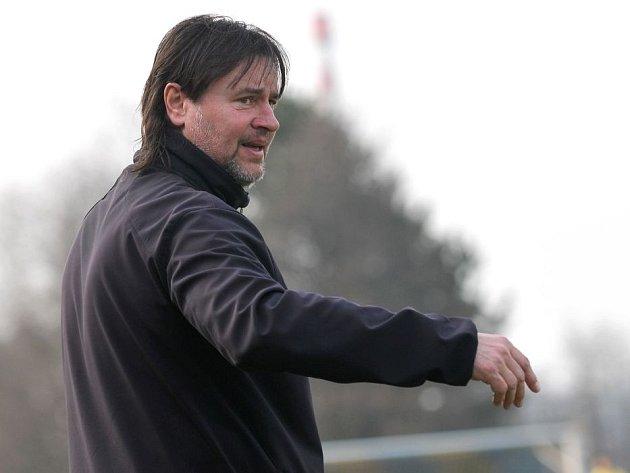 Richard Švehlík, trenér 1.FC Viktorie Přerov.