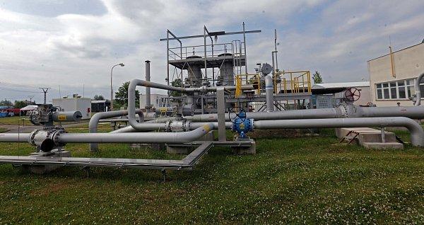 Podzemní zásobník plynu vLobodicích uPřerova
