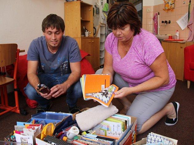 Děti v Základní škole Boženy Němcové v Přerově využijí hlavně pastelky, tužky nebo sešity