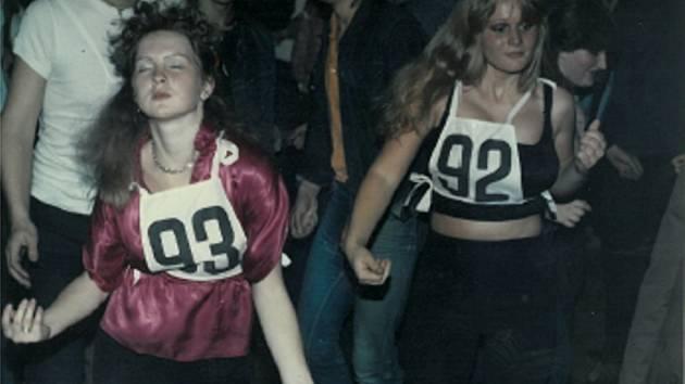 Diskotéky osmdesátých let v Přerově.