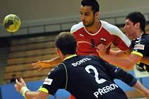 Přátelský zápas házenkářů Přerova s reprezentací Egypta