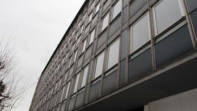 Budova bývalého Emosu na Masarykově náměstí v Přerově