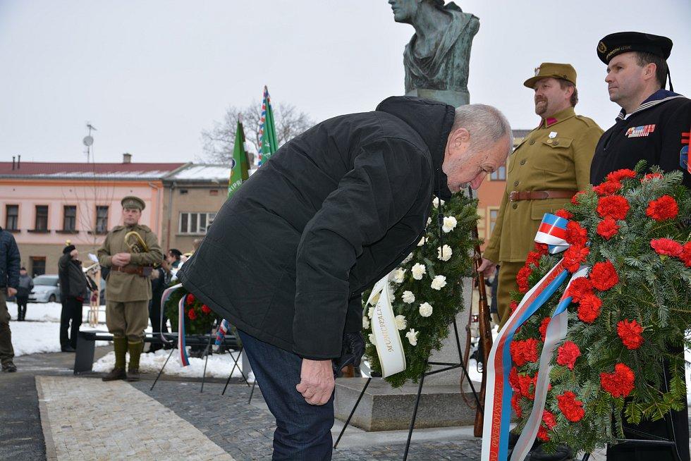 Přerov si v neděli 11. února připomněl významné výročí - přesně před sto lety byl popraven v Boce Kotorské vůdce vzpoury námořníků František Rasch, který byl přerovským rodákem.