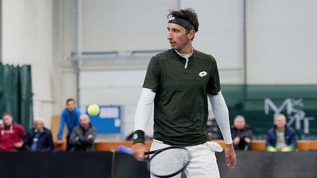 Ukrajinský tenista Sergej Stachovskij hrál i v české extralize.