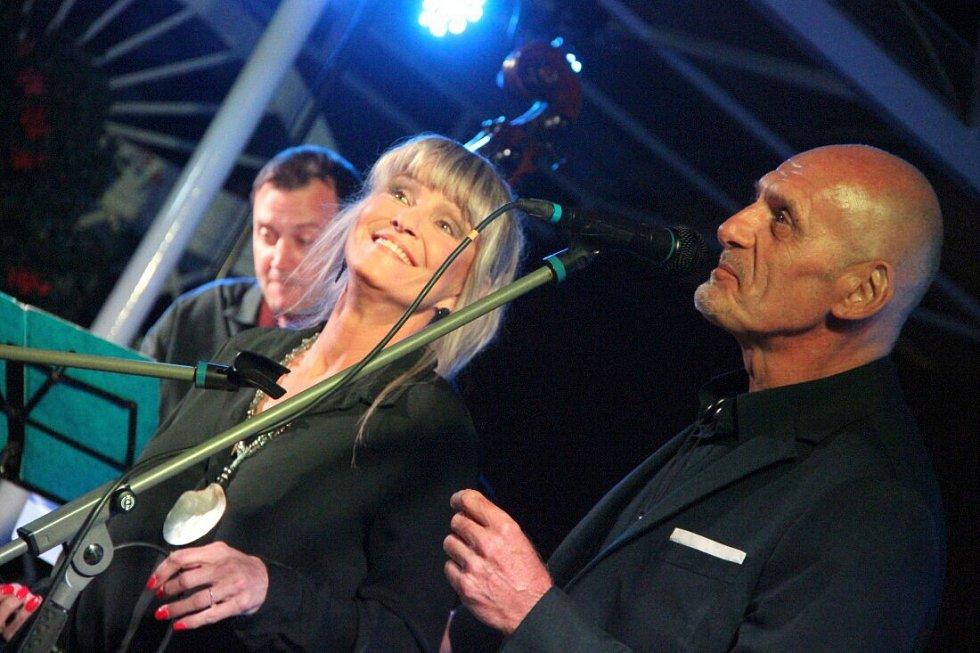 Chantal Poullain na Setkání dechových hudeb v Dřevohosticích