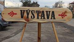Vánoční prodejní výstava Střední školy řezbářské v Tovačově