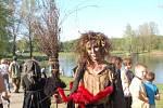 Pálení čarodějnic na přerovské Laguně