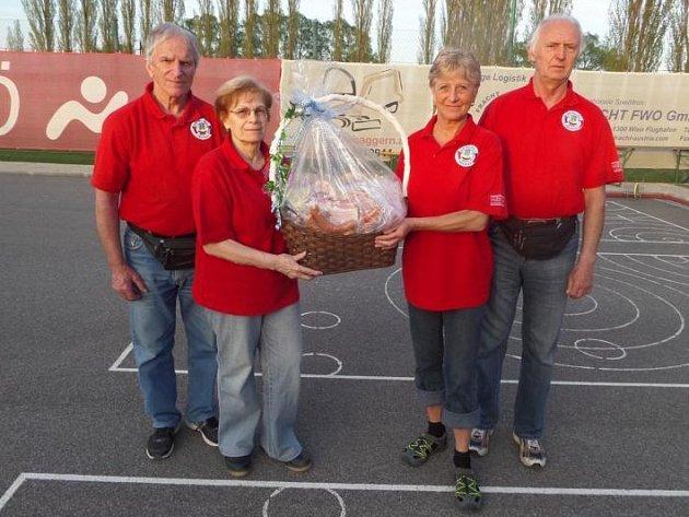 Hráči metané z přerovského klubu byli úspěšní na asfaltovém turnaji v Rakousku