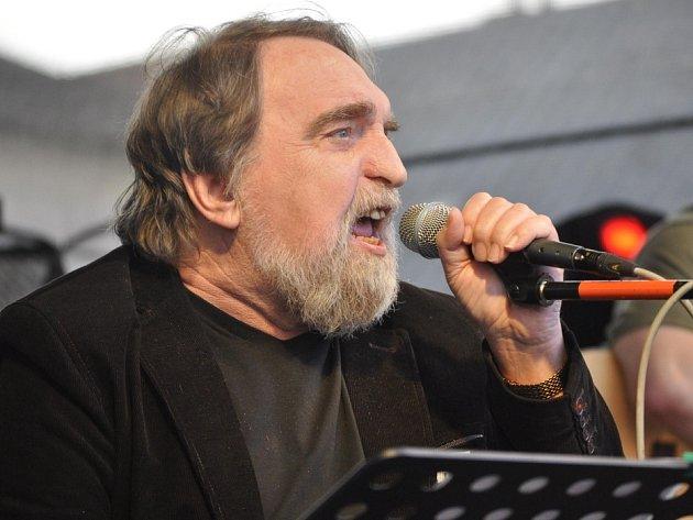 Jaroslav Wykrent na náměstí TGM v Přerově