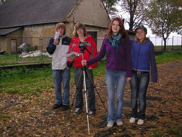 Studenti v Kojetíně natočili hororový snímek