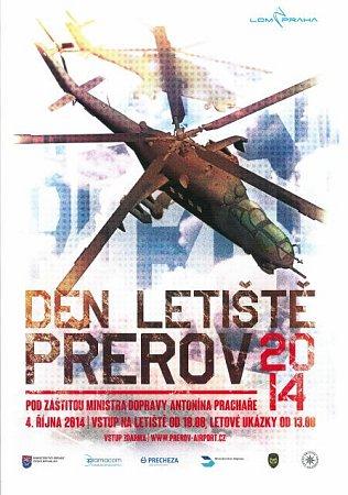 Den letiště vPřerově - plakát