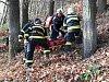 Hasiči zachraňovali paraglidistku ze stromu nedaleko Podhoří u Lipníku nad Bečvou