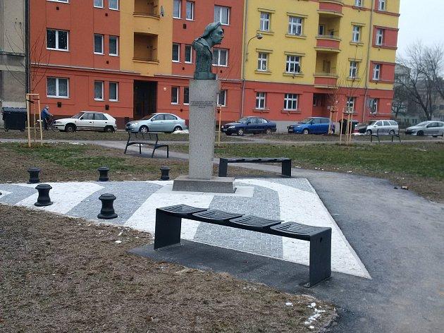 Náměstí Františka Rasche v Přerově