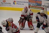 Hasiči, policisté, záchranka a městští strážníci soupeřili o vítězství v hokejovém turnaji v Přerově