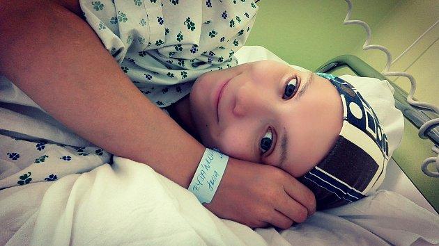 Třiadvacetileté Janě Ryšánkové z Přerova v těhotenství zjistili rakovinu