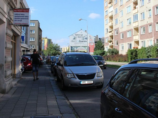 Palackého ulice vPřerově se má rozšiřovat vúseku od ulice B. Němcové po Dr. Skaláka – směrem kmístní samoobsluze.