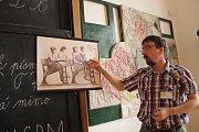 Návštěvníci Muzea Komenského v Přerově se mohou podívat do historických učeben - od Komenského až po období socialismu.