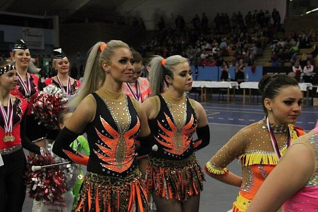 Mažoretky Fantasy Přerov uspořádaly v hale Spartaku kvalifikační kolo MČR.