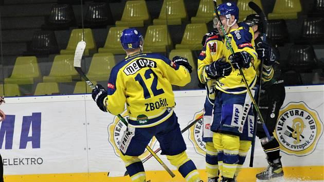 33. kolo Chance ligy: HC Baník Sokolov - HC Zubři Přerov
