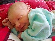 Emma Heinzová, Přerov, narozena 22. února v Přerově, míra 48 cm, váha 3050 g