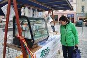 V Přerově se na Zelený čtvrtek konaly první farmářské trhy v režii města a Agrární komory.