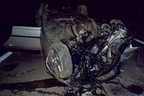 Vážná nehoda superbu u Brodku u Přerova
