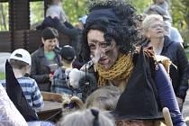 Čarodějnice řádily v areálu přerovských lagun, děti si užily hry a soutěže.