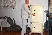 Trezor bez klíčů je uložen v depozitáři Muzea Komenského v Přerově