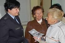 Policejní beseda s přerovskými důchodci