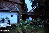 Následky pondělní bouřky a lijáku na Přerovsku