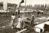 V roce 1985 se v Horním Újezdě cvičila spartakiáda.