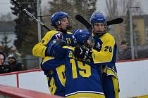 Winter Classic hokejového dorostu mezi HC Zubr Přerov a HC RT Torax Poruba.
