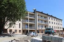 Nový pavilon Domova pro seniory v Radkově Lhotě