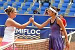 Zubr Cup 2012 - Martina Kubičíková a vítězka Cristina-Andreea Mituová