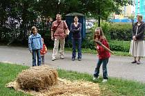 Děti na akci Od zrníčka k mouce
