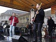 Vánoční koncert Pavla Nováka na přerovském náměstí 2016