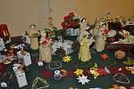 Vánoční výstava organizace Svazu tělesně postižených v Přerově
