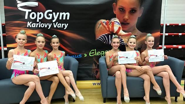 Moderní gymnastky mají za sebou záběr podzimní sezony.