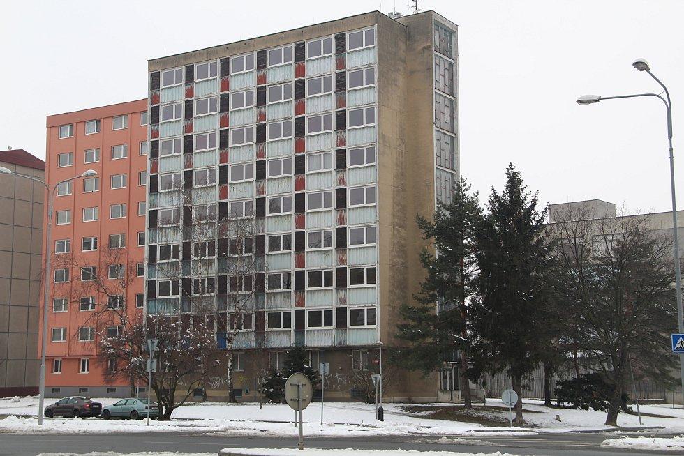 Bývalá ubytovna Chemik v Přerově