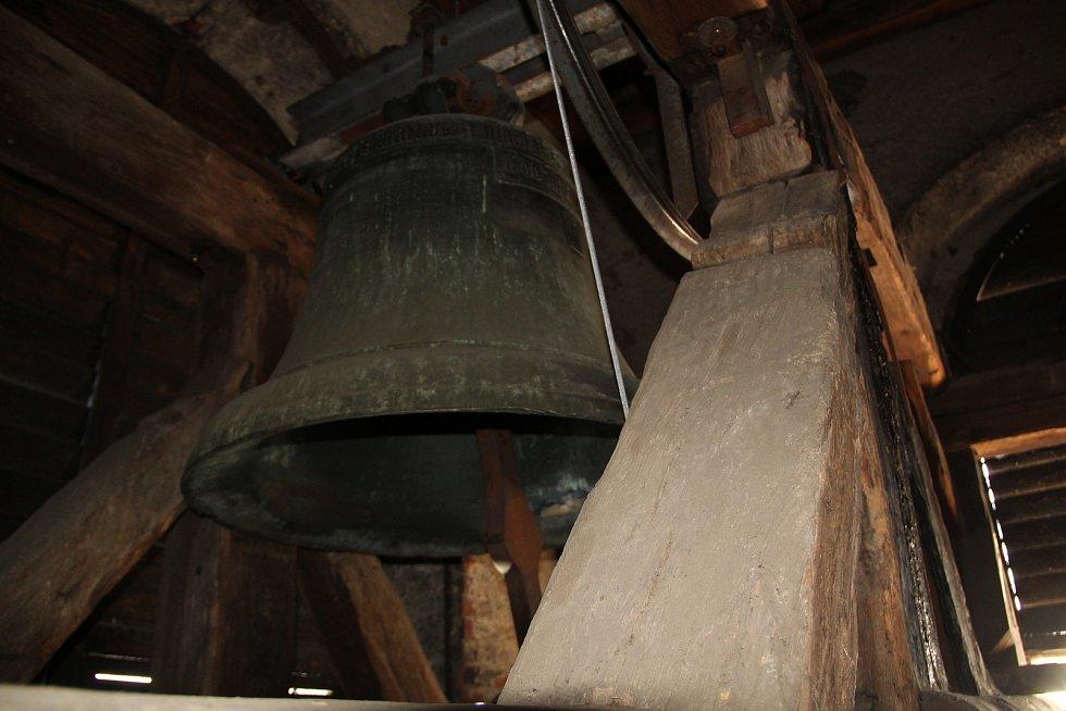 Zvon v kostele sv. Vavřince v Přerově