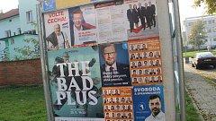 Předvolební kampaň v přerovských ulicích