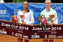 Turnaj ITF v Přerově Zubr Cup 2014 vyhrála Barbora Krejčíková