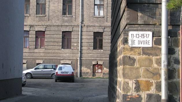Husova ulice v Přerově