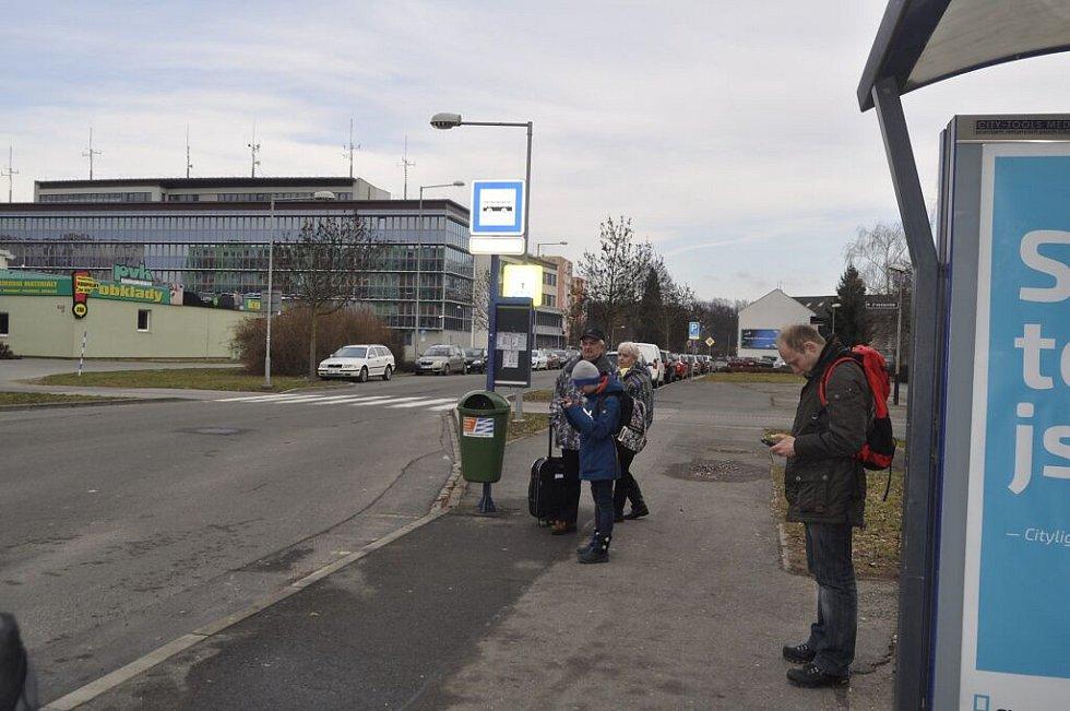 77 autobusových spojů v pondělí 8. února v Přerově nevyjelo