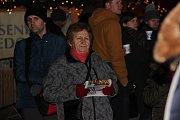 Česko zpívá koledy na náměstí TGM v Přerově