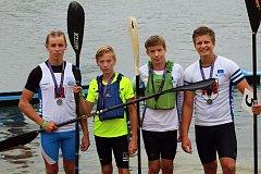 Přerovští rychlostní kanoisté uspěli na mistrovství Moravy