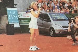 Tenisová akademie Petra Huťky v minulosti. Rok 1999, Helena Vondráčková