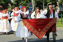 Velkolepý krojovaný průvod Hanáků s Ječmínkovou jízdou králů prošel v neděli ráno ulicemi Kojetína. Město celý víkend žilo tradičními hody.